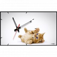 Часы настенные «Котик».