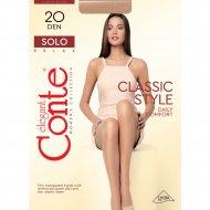 Колготки женские «Conte» Solo, размер 3, 20 den, Natural