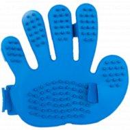 Массажная щетка-перчатка для вычесывания шерсти, 13x12 см.