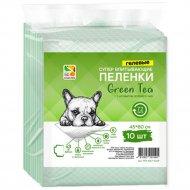 Пеленки для собак «Green Tea» 45х60см, 10 шт.