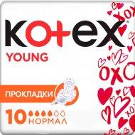 Прокладки женские «Kotex» young normal, 10 шт.