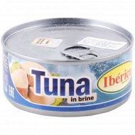 Рыбные консервы «Тунец полосатый» филе-кусочки, 160 г.