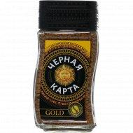 Кофе растворимый «Черная Карта» Gold, 95 г.