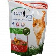 Корм «Cat Fit» для взрослых кошек, 400 г.