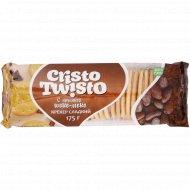 Крекер сладкий «Кристо-Твисто» с начинкой шоко-моко, 175 г.