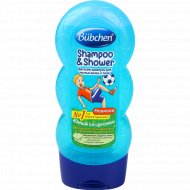 Шампунь для мытья волос и тела «Bubchen» спорт и удовольствие, 230 мл.