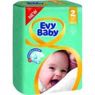 Подгузники «Evy Baby» размер 2 mini, 3-6 кг, 32 шт.