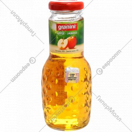 Сок «Granini» яблочный, 0.25 л.