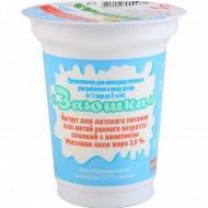 Йогурт «Заюшка» для детского питания 3 %, 150 г.