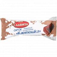 Сырок творожный глазированный «Картошка» с какао и ароматом рома и шоколада 15%, 40 г.