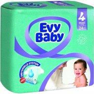 Подгузники «Evy Baby» размер 4 maxi, 7-18 кг, 24 шт.