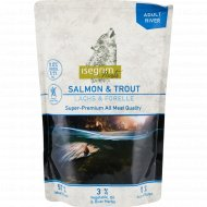 Корм для домашнего питомца «isegrim Roots» лосось и форель, 410 г.