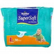 Подгузники детские «YourSun» размер L, 7-18 кг, 30 шт.