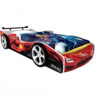 Кровать-машинка «Домик» Формула 3Д