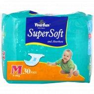 Подгузники детские «YourSun» размер M, 4-9 кг, 30 шт.