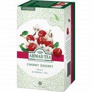 Чай травяной «Ahmad Tea» cherry dessert вишня и шиповник, 20 пакетиков, 40 г.