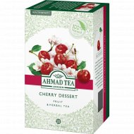 Чай травяной «Ahmad Tea» cherry dessert вишня и шиповник, 20 пакетиков, 40 г.