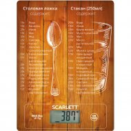 Весы кухонные «Scarlett» SC-KS57P19.