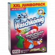Порошок стиральный «Der Waschkonig C.G.» color, 7.5 кг.