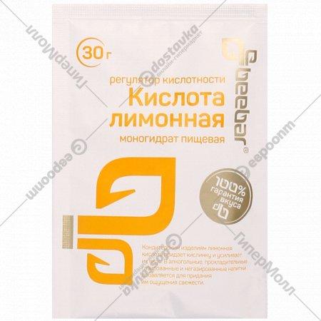 Лимонная кислота «BeeBar» 30 г.
