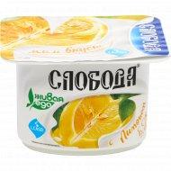 Биойогурт «Слобода» с лимоном, 5.2%, 125 г.