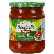 Лечо «Bonduelle» отборный перец в густом томатном соусе, 520 г.