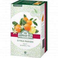 Чай травяной «Ahmad Tea» с ароматом апельсина и лимона, 20 пакетиков.