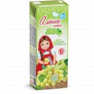 Нектар «Аленка Любит» яблочно-виноградный, 0.2 л.