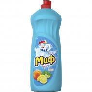 Средство для мытья посуды «Миф» свежесть цитрусов, 1 л.