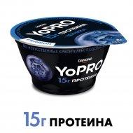Йогурт «YoPro» с черникой, 2.3 %, 160 г.