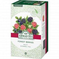 Чай травяной «Ahmad Tea» со вкусом лесных ягод, 20 пакетиков.