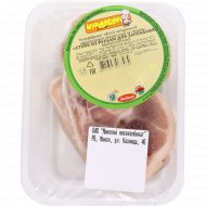 Полуфабрикат мясной «Стейк из рульки для запекания» натуральный, 1 кг., фасовка 1.1-1.2 кг