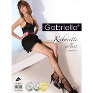 Колготки женские «Gabriella» Kabarette Exclusive 151, р. 1/2, черный