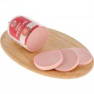 Колбаса варёная «Мортаделла новая » высшего сорта 400 г.