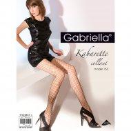 Колготки женские «Gabriella» Kabarette Exclusive 153, р. 1/2, белый