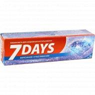Зубная паста «D.I.E.S» 7 days бережное отбеливание, 100 мл.