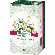 Чай травяной «Ahmad Tea» с ромашкой и лимонным сорго, 20 пакетиков.