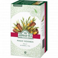 Чай травяной «Ahmad Tea» ройбуш с корицей, 20 пакетиков, 30 г.