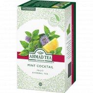 Чай травяной «Ahmad Tea» mint coctail, 20 пакетиков х 30 г.