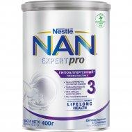 Детское молочко «NAN 3» гипоаллергенная, с 12 месяцев, 400 г