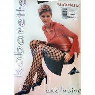 Колготки женские «Gabriella» Kabarette Rombo, размер 2, черный