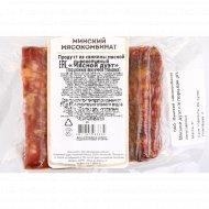 Продукт из свинины мясной сырокопченый «Мясной дуэт» 1 кг., фасовка 0.3-0.45 кг