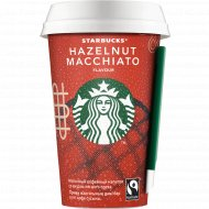 Кофейный напиток молочный «Starbucks» лесной орех, 2.6%, 220 мл.