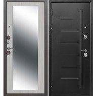 Дверь входная «Гарда» Троя серебро Maxi, Серебро/Белый ясень, L, 205х96 см