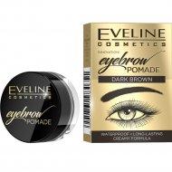 Помада для бровей «Eveline» Eyebrown Pomade тон dark brown, 4 г.