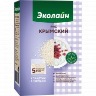Крупа рисовая «Эколайн» крымская, 500 г.