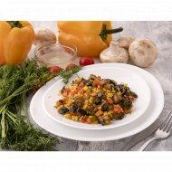 Булгур с овощами, 150  г.