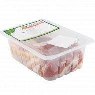 Грудинка свиная охлажденная, 1 кг, фасовка 1-1.5 кг
