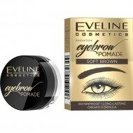 Помада для бровей «Eveline» Eyebrown Pomade тон soft brown, 4 г.