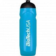 Фляга для питья, прозрачно-синяя 750 мл.